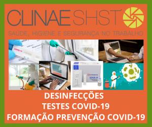 Agende os novos serviços de prevenção COVID-19